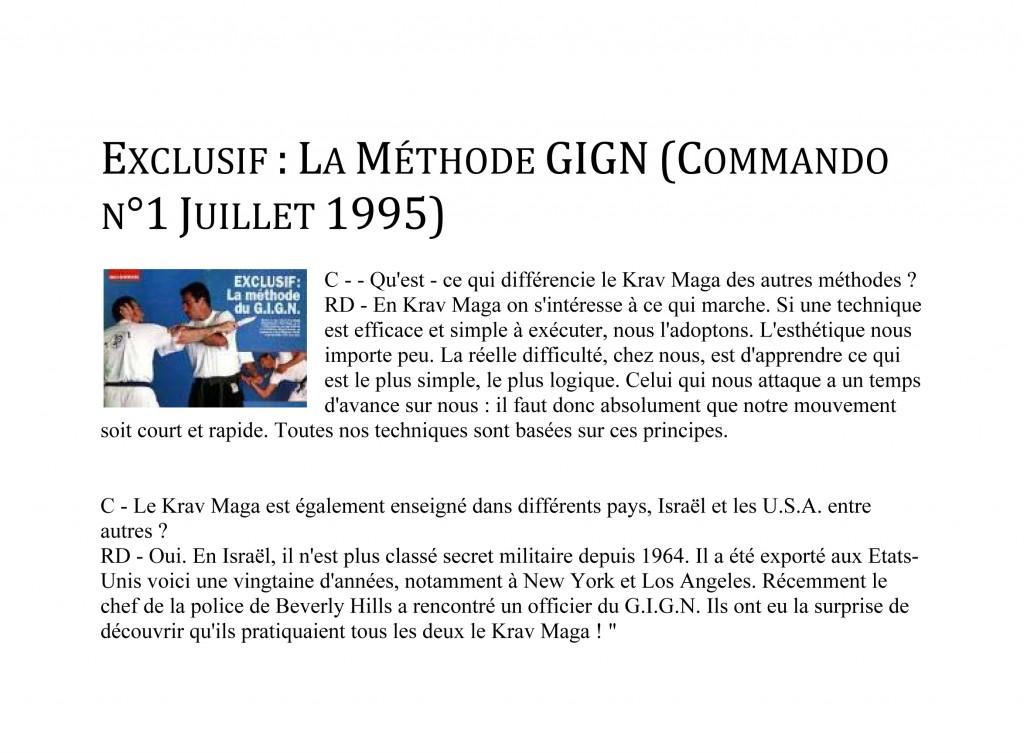 Microsoft Word - rdp-fr-Commando n°1 Juillet 1995 - Exclusif  L