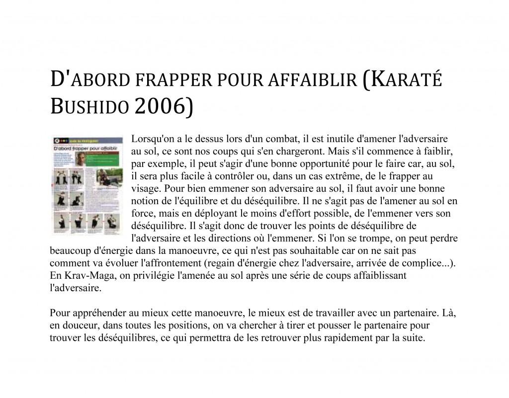Microsoft Word - rdp-fr-D'abord frapper pour affaiblir _Karaté