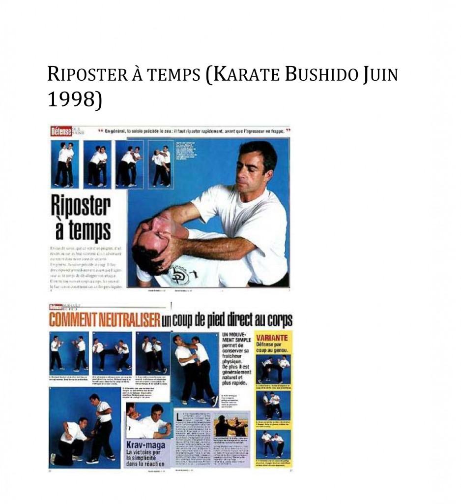 Microsoft Word - rdp-fr-Karate Bushido Juin 1998 - Riposter à t