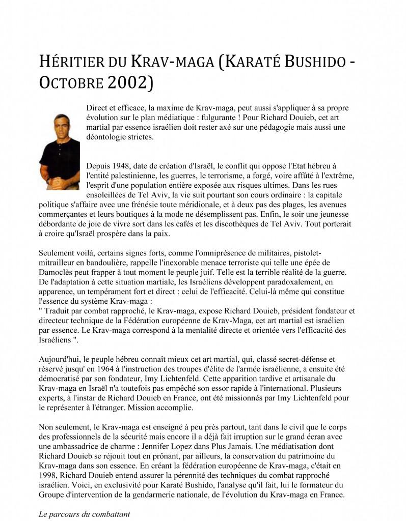 Microsoft Word - rdp-fr-Karaté Bushido - Octobre 2002 - Hériti